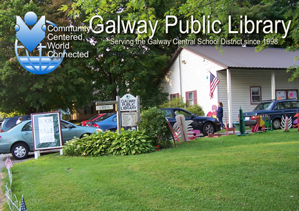 E And Y Galway Galway Public Library | 5264 Sacandaga Rd. Galway, N.Y. 12074
