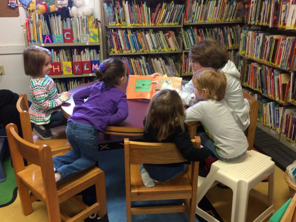 Story Time - growing eager readers!